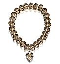Fiorelli Beaded Heart Bracelet