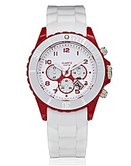 Colour-Chrono Look Watch