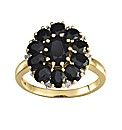9 Carat Gold Sapphire and Diamond Ring