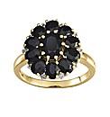 9 Carat Gold Sapphire and Diamond Ring