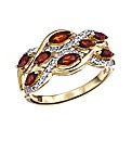 9 Carat Gold Eight Stone Ring