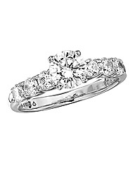 Diamonfire Cubic Zirconia Dress Ring