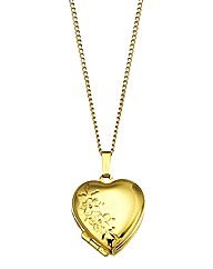 9 Carat Rolled Gold Heart Locket