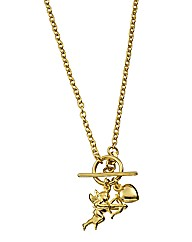 9 Carat Gold Cherub Necklace