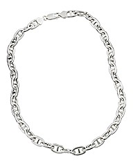 Sterling Silver Gents Rambo Chain