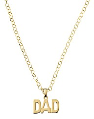 9 Carat Gold Gents Family Pendant