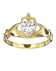 9 Carat Gold Claddagh Ring