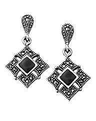 W.Hamond Marcasite Earrings