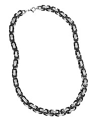 Stainless Steel Two-tone Chain Necklace
