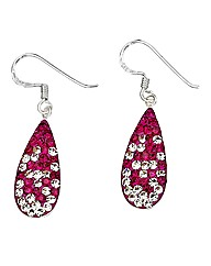Sterling Silver and Crystal Earrings