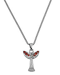 Guardian Angel Birthstone Pendant