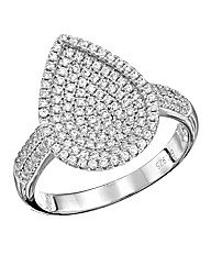 J-Jaz Pear Shaped Ring