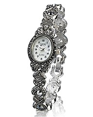 Ladies Hematite Bracelet Watch