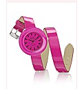 Ladies Wrap-around Strap Watch