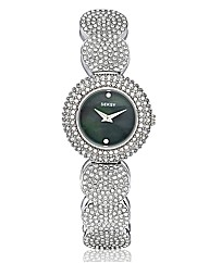 Seksy Ladies Round Glitzy Bracelet Watch