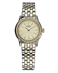 Rotary Ladies Two-tone Bracelet Watch