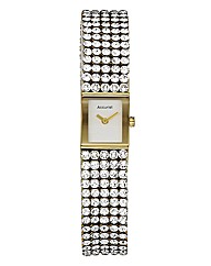 Accurist Ladies Crystal Strap Watch