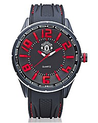 Gents Silicon Strap Football Watch