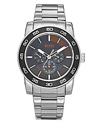 BOSS Orange Gents Black Dial Stainless S