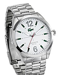 Lacoste Gents White Dial Watch
