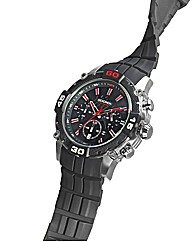 Sekonda Gents Black Strap Sports Watch