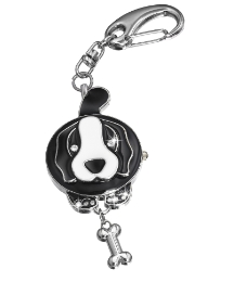 Animal-Shaped Keyring Clock Watch
