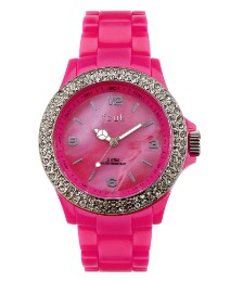 FCUK Neon Pink Watch