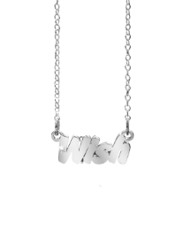 Sterling Silver Sentiment Necklace