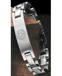 Stainless Steel Football Club Bracelet