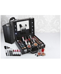 Light Up Vanity Case - Black