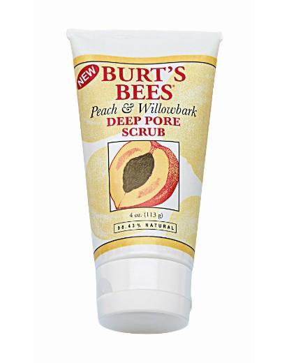 Image of Burts Bees Peach & Willow Bark Scrub