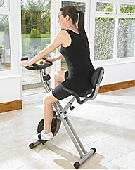 Magnetic Exercise Bike with Back