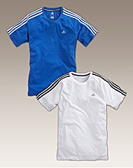 Mens Pack 2 Adidas Tees
