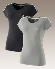 Adidas Ladies Pack of 2 T-Shirts