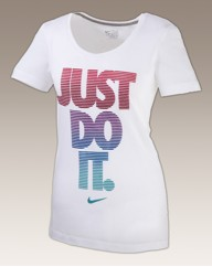 Nike Ladies Social Just Do It Tee