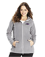 Body Star Fall Long Line Fleece Hoody