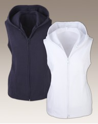 Body Star Ladies Pk 2 Hooded Gilet