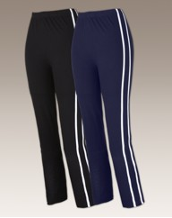 Body Star Ladies Pk 2 Jersey Leggings
