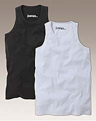 Jacamo Pack of 2 Vests