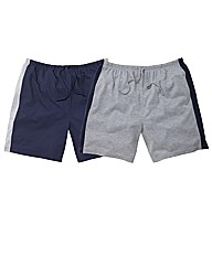JACAMO PACK OF 2 LOUNGE SHORTS