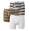 Jacamo Pack Of 3 Key Hole Trunks