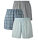 Jacamo Pack of 3 Woven Boxers