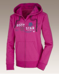 Body Star Fall Full Zip Hooded Top Reg