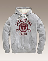 Loyalty and Faith Mens Emblem Hoodie Reg