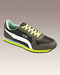 JCM Sports Nylon Trainer Extra Wide