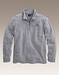 Mitre Zip Neck Fleece Reg