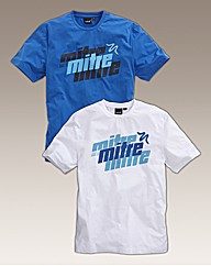 Mitre Pack of Two T-Shirts
