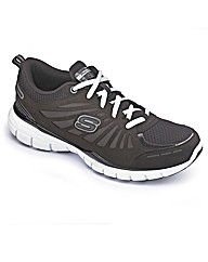 Skechers Ladies Tone Up Run Trainer Wide