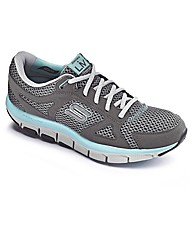 Skechers Ladies Shape-Up Trainers E Fit