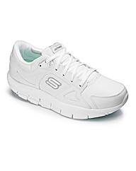 Skechers Liv Leather Trainers E Fit
